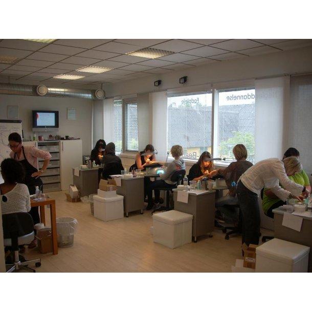 STUDIOMAX gele negle 8 ugers uddannelse